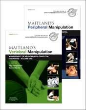 Maitland's Vertebral Manipulation, Volume 1, 8e and Maitland's Peripheral Manipulation, Volume 2, 5e (2-Volume Set)