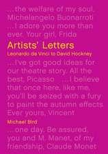 Artists' Letters: Leonardo Da Vinci to David Hockney