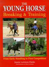 The Young Horse:  Breaking and Training PB