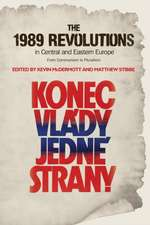 The 1989 Revolutions in Central and Eastern Europe