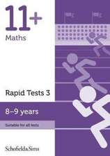 11+ Maths Rapid Tests Book 3: Year 4, Ages 8-9