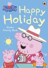 Happy Holiday Sticker Activity Book