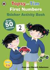 First Numbers, A Ladybird Topsy and Tim sticker book