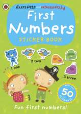 First Numbers, A Pirate Pete and Princess Polly sticker activity book