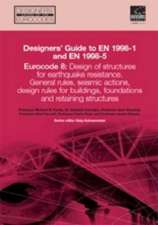 Designers' Guide to Eurocode 8: Design of buildings for earthquake resistance