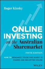 Online Investing on Australian Sharemarket
