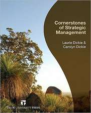 Cornerstones of Strategic Management