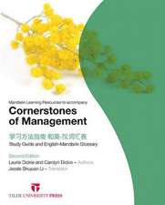 Mandarin Learning Resources to Accompany Cornerstones of Management