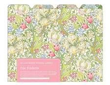 V&a William Morris Garden File Folder:  480 Sticky Notes
