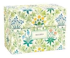 Victoria & Albert Museum William Morris Recipe Box:  480 Sticky Notes