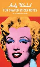 Andy Warhol Marilyn Shaped Sticky Notes:  480 Sticky Notes