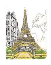 Paris Eiffel Tower Handmade Journal