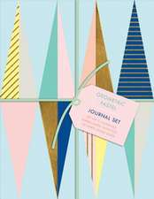 Geometric Pastel Petite Journal Set