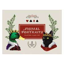 Berkley Bestiary Anmial Portraits Playing Cards