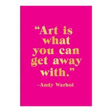 Andy Warhol Hardcover Book of Sticky Notes