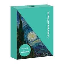 Landscapes & Figures Diagonal Notecard Set