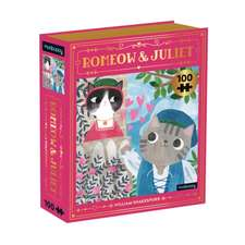 Romeow & Juliet Bookish Cats 100 Piece Puzzle