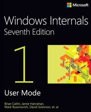 Windows® Internals, Book 1