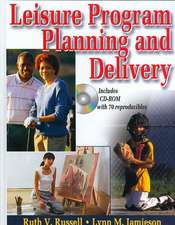 Leisure Program Planning and Delivery