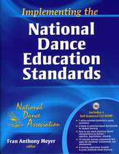 Implementing the National Dance Association Standards:  Physical Activities for Tight Spaces