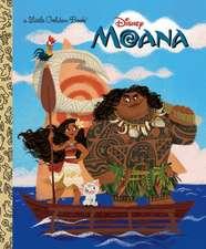 Moana Little Golden Book