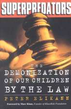 Superpredators: The Demonization Of Our Children By The Law