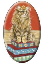 Tarot of the Pagan Cats the Emperor Magnet