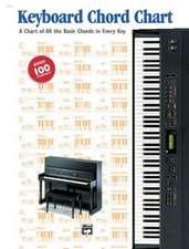 Keyboard Chord Chart: Chart