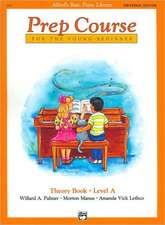 Alfred's Basic Piano Prep Course Theory Book, Bk a: Universal Edition