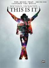 Michael Jackson's This Is It: The Music That Inspired the Movie (Piano/Vocal/Chords)