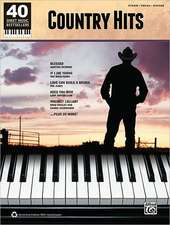Country Hits: Piano/Vocal/Guitar