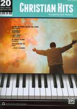 20 Sheet Music Bestsellers -- Christian Hits: Easy Piano
