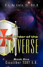 The Order of the Universe