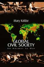 Global Civil Society: An Answer to War