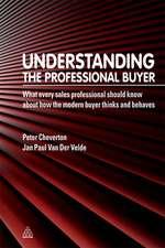 Understanding the Professional Buyer