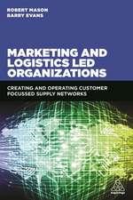 Marketing and Logistics Led Organizations