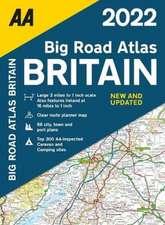 BIG ROAD ATLAS BRITAIN 2022 PB