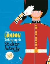 My London Infographic Sticker Activity Book