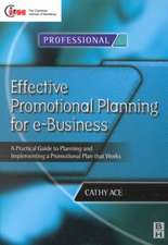 Effective Promotional Planning for E-Business