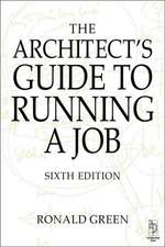 Architect's Guide to Running a Job:  A Psychosocial Approach