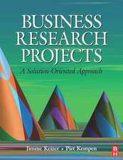 Keizer, J: Business Research Projects