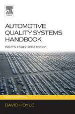 Automotive Quality Systems Handbook: ISO/TS 16949:2002 Edition