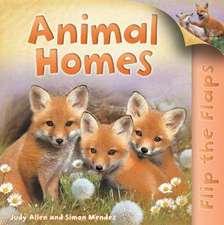 Flip the Flaps: Animal Homes