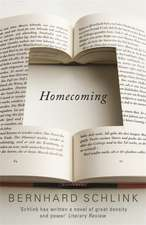 Schlink, P: Homecoming
