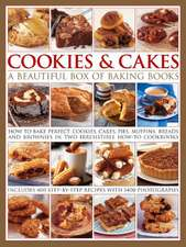 Cookies & Cakes:  A Beautiful Box of Baking Books