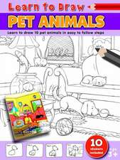 Learn to Draw Pet Animals