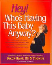 Hey! Who's Having This Baby Anyway?:  How to Take Charge and Create a Safe Environment for Your Baby's Birth, Including Essential Information about Med