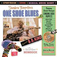 One Shoe Blues [With DVD]:  A Scanimation Picture Book
