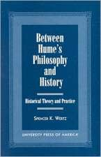 Between Hume's Philosophy and History