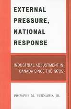 External Pressure, National Response